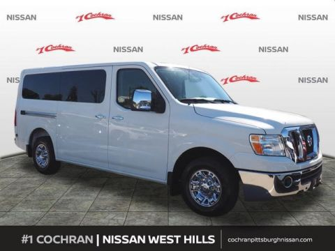 Certified Pre-Owned 2017 Nissan NV Passenger SL